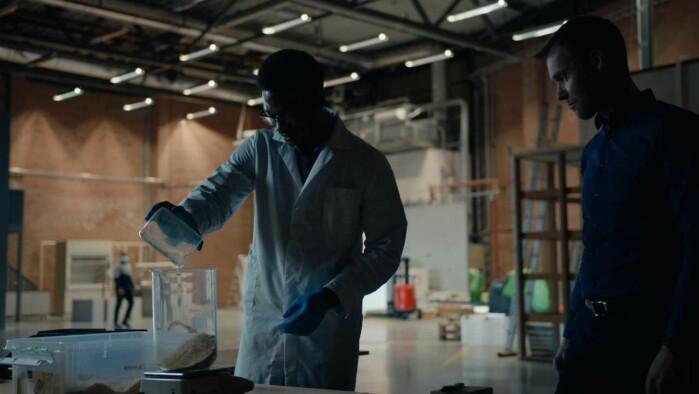 Beyonder uses sawdust to produce batteries.
