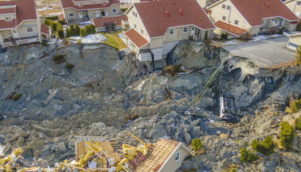 Ten people died in the landslide in the town of Gjerdrum, north of Oslo, on 30 December last year.