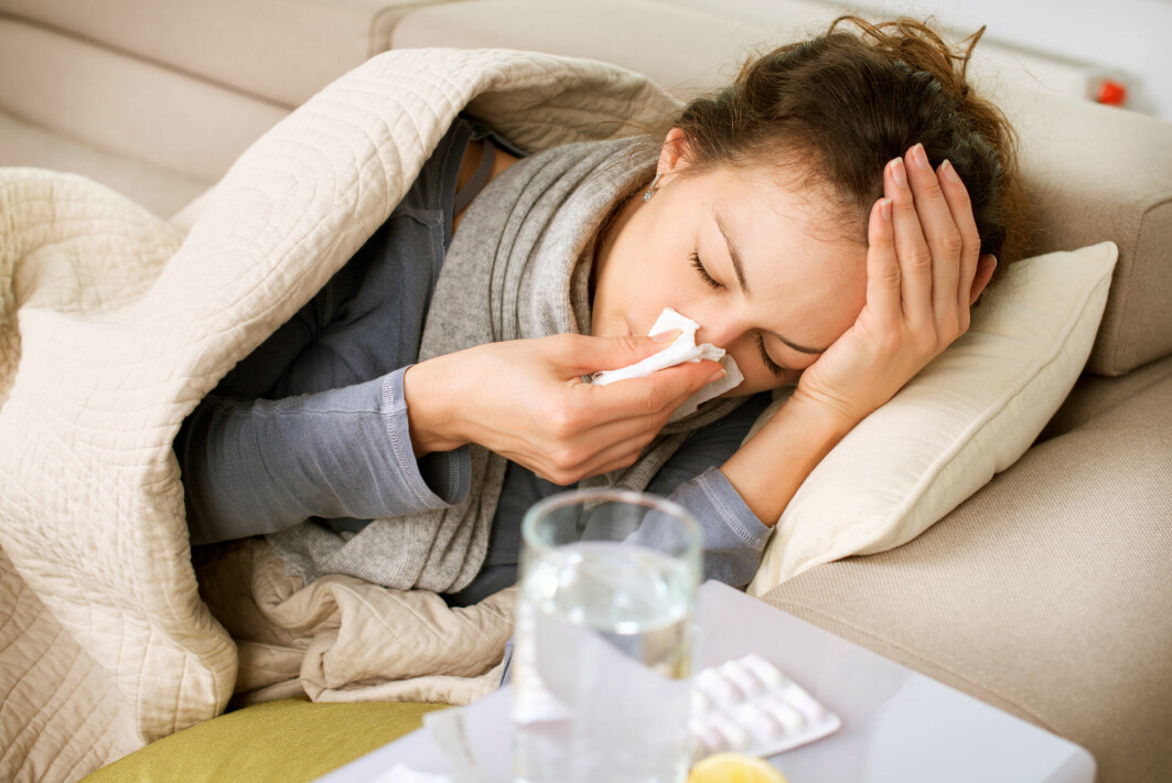 It appears that fewer people caught colds during the pandemic year.