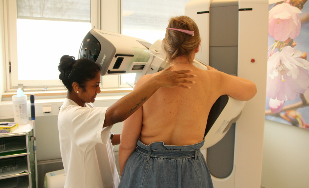 The new screening method takes pictures from a number of angles of the breasts, which gives a 3D effect. But the method does not reveal more tumours as expected.