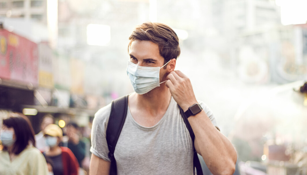 Some researchers have claimed wearing a face mask is more important than the constant washing of hands, as they believe the virus is mainly transmitted via air.