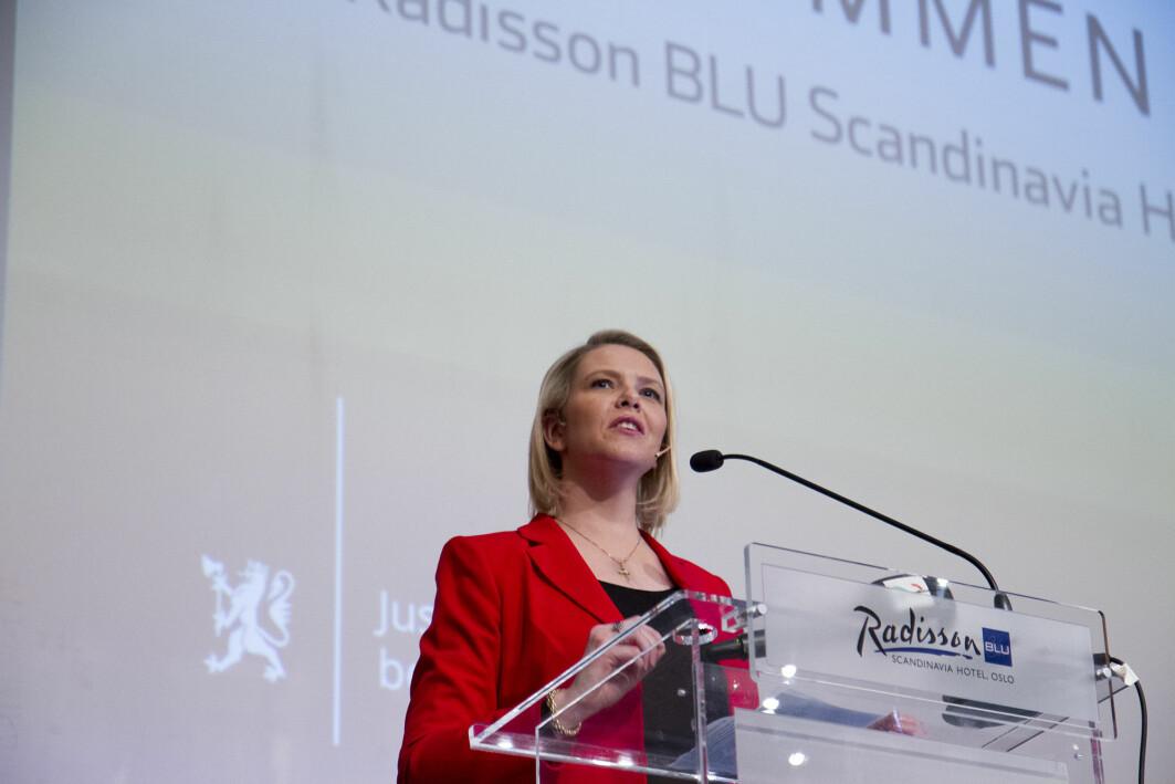 Sylvi Listhaug in 2016.