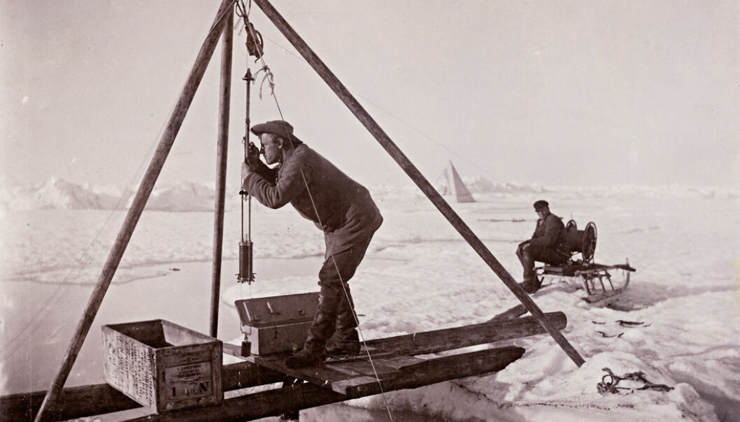 Work on the ice 125 years ago